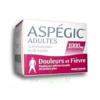 Aspegic Adultes 1000 Mg, Poudre Pour Solution Buvable En Sachet-dose 20 à NANTERRE