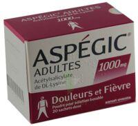 Aspegic Adultes 1000 Mg, Poudre Pour Solution Buvable En Sachet-dose 15 à NANTERRE