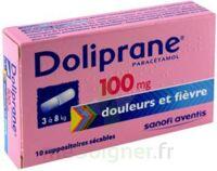 Doliprane 100 Mg Suppositoires Sécables 2plq/5 (10) à NANTERRE