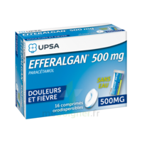Efferalgan 500 Mg, Comprimé Orodispersible à NANTERRE
