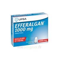 Efferalgan 1000 Mg Comprimés Pelliculés Plq/8 à NANTERRE