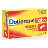Dolipranetabs 1000 Mg Comprimés Pelliculés Plq/8 à NANTERRE