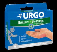 Urgo Brulures-blessures Petit Format X 6 à NANTERRE