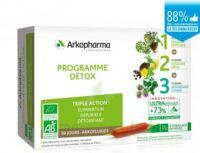 Arkofluide Bio Ultraextract Coffret Programme Détox 3x10 Ampoules/10ml à NANTERRE