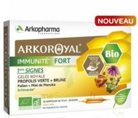 Arkoroyal Immunité Fort Solution Buvable 20 Ampoules/10ml à NANTERRE