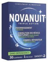 Novanuit Triple Action Comprimés B/30 à NANTERRE