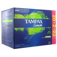 Tampax Compak, Super, Bt 22 à NANTERRE