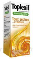 Toplexil 0,33 Mg/ml Sans Sucre Solution Buvable 150ml à NANTERRE