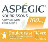 Aspegic Nourrissons 100 Mg, Poudre Pour Solution Buvable En Sachet-dose à NANTERRE