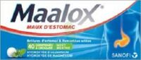 Maalox Hydroxyde D'aluminium/hydroxyde De Magnesium 400 Mg/400 Mg Cpr à Croquer Maux D'estomac Plq/40 à NANTERRE
