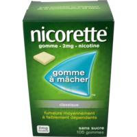 Nicorette 2 Mg Gom à Mâcher Médic Sans Sucre Menthe Fraîche Plq/105gom à NANTERRE