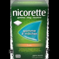 Nicorette 2 Mg Gomme à Mâcher Médicamenteuse Sans Sucre Fruits Plq/30 à NANTERRE