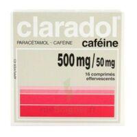 Claradol Cafeine 500 Mg/50 Mg, Comprimé Effervescent à NANTERRE