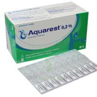 Aquarest 0,2 %, Gel Opthalmique En Récipient Unidose à NANTERRE