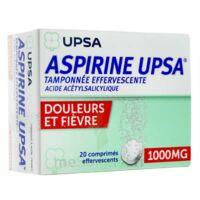 Aspirine Upsa Tamponnee Effervescente 1000 Mg, Comprimé Effervescent à NANTERRE