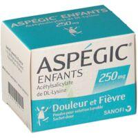 Aspegic Enfants 250, Poudre Pour Solution Buvable En Sachet-dose à NANTERRE