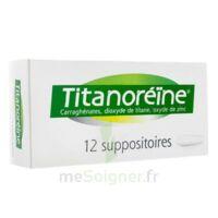 Titanoreine Suppositoires B/12 à NANTERRE