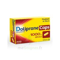 Dolipranecaps 1000 Mg Gélules Plq/8 à NANTERRE
