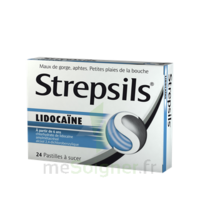 Strepsils Lidocaïne Pastilles Plq/24 à NANTERRE