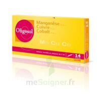 Oligosol Manganèse Cuivre Cobalt Solution Buvable En Ampoule 14amp/2ml à NANTERRE