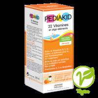Pédiakid 22 Vitamines Et Oligo-eléments Sirop Abricot Orange 125ml à NANTERRE