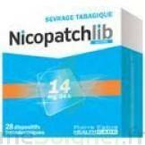 Nicopatchlib 14 Mg/24 H Dispositifs Transdermiques B/28 à NANTERRE