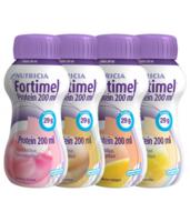 Fortimel Protein Nutriment Multi Saveurs Caramel/vanille/fraise/mangue 4 Bouteilles/200ml à NANTERRE