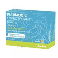 Fluimucil Expectorant Acetylcysteine 600 Mg Glé S Buv Adultes 10sach à NANTERRE