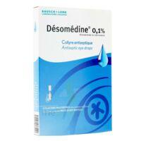 Desomedine 0,1 % Collyre Sol 10fl/0,6ml à NANTERRE