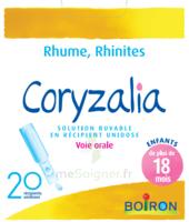 Boiron Coryzalia Solution Buvable Unidose B/20 à NANTERRE