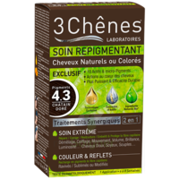 Soin Repigmentant Kit Cheveux Naturels Ou Colorés 4.3 Pigments Châtain Doré à NANTERRE